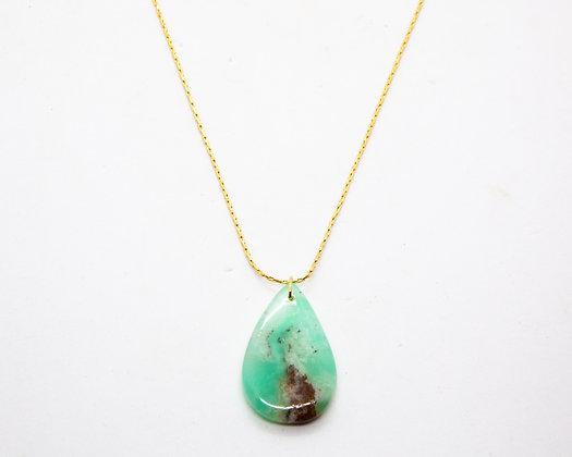 Collier Chrysoprase   Chrysoprase necklace