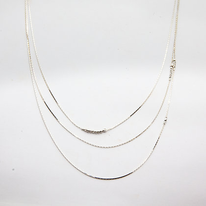 Thadee collier sautoir argent | Thadee long necklace