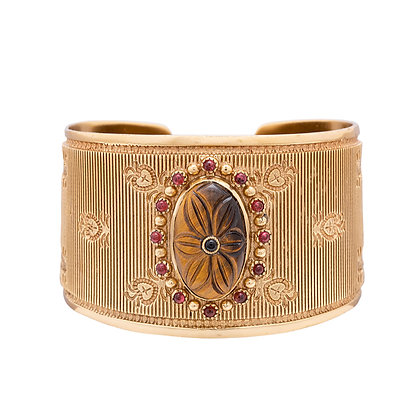 Anouk bracelet Oeil de tigre | Anouk cuff