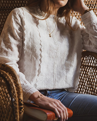 Astree | Blouse broderie anglaise