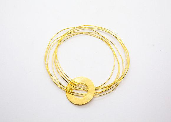 Bracelet semainier fin - bracelet créateur - laure mory - the boho society