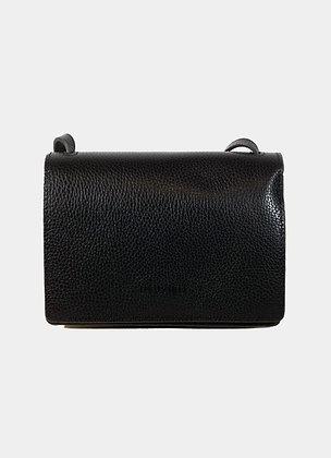 Sac en cuir noir - sac en cuir neuville - sac en cuir boho chic - the boho society