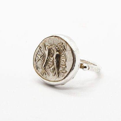 Antic bague argent   Antic silver ring