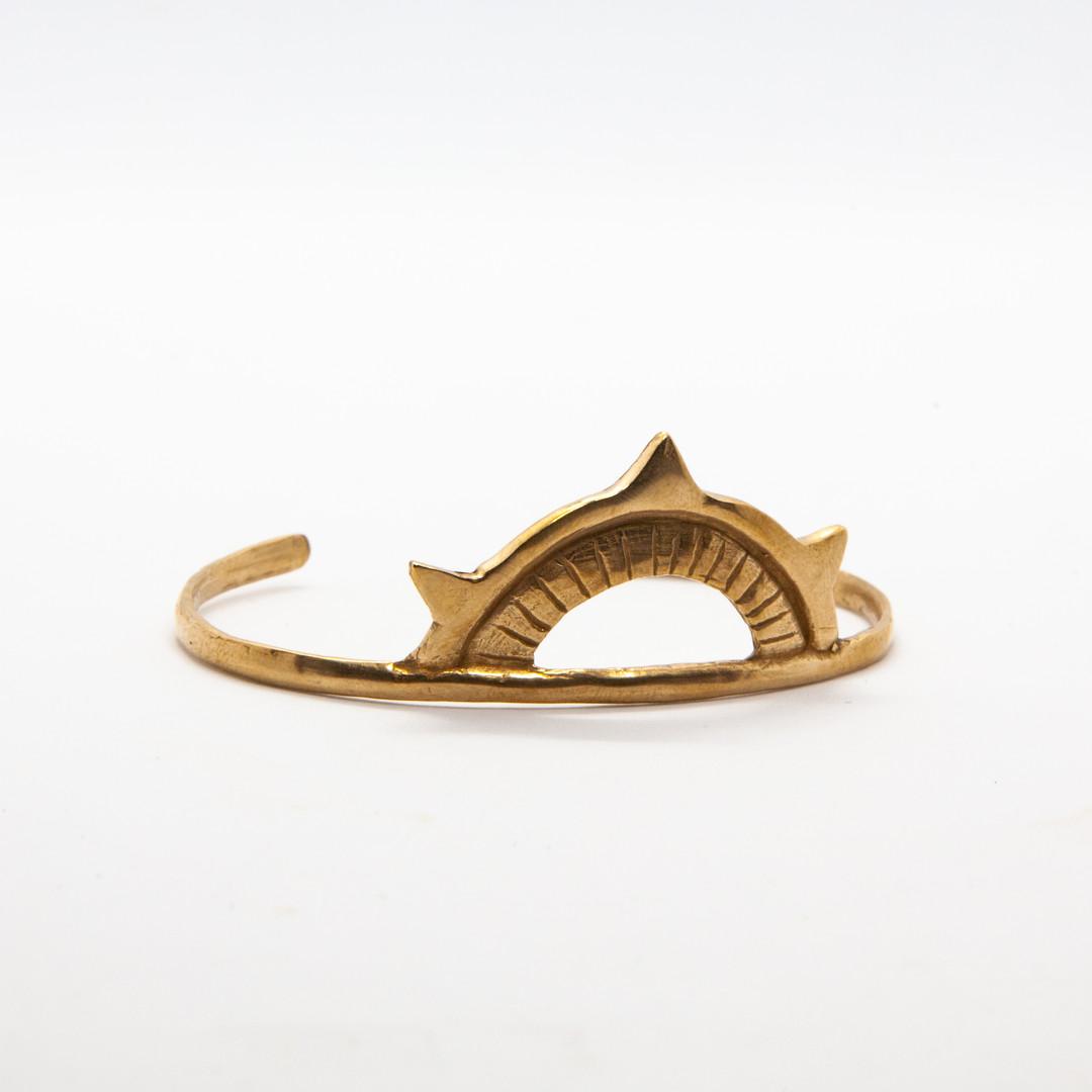 bracelet jonc bronze - bracelet ethnique