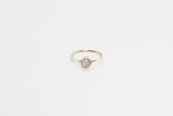 The boho society - Bague Anya | Anya ring - Bague argent sterling 925 et pierre de lune 925 sterling silver ring & moon stone