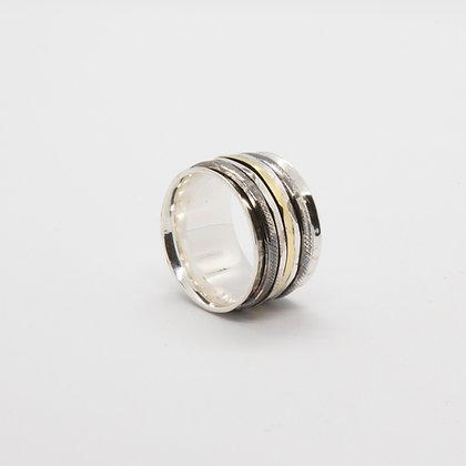Carol bague large argent | Carol silver ring