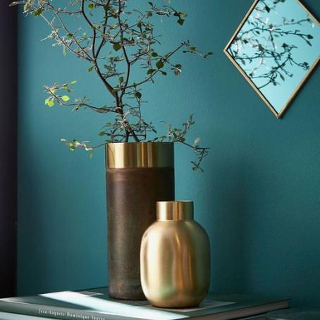 Inspiration boho chic | Le vert et l'or...