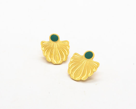 boucles d oreilles fantaisie - bijou inoxydable - bijoux boheme - the boho society