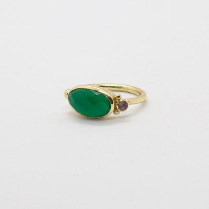 Lilla bague Onyx vert | Lilla ring