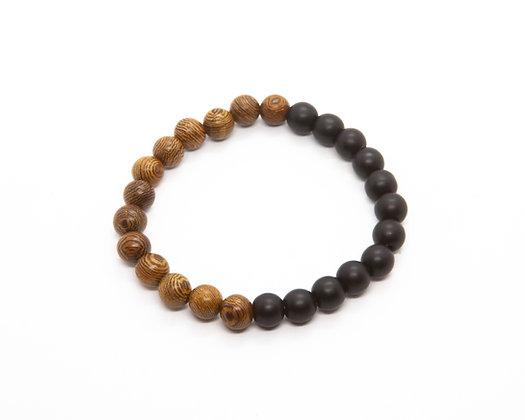 bracelet homme pierre naturelle - bracelet perles homme - bijoux homme - the boho society