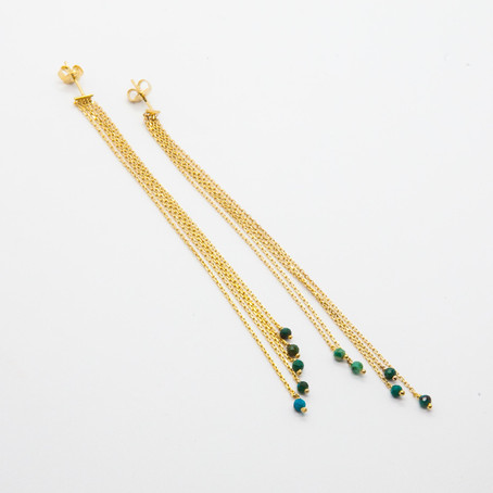 Bijoux créateur | Oversize & Fashion : les boucles d'oreilles Cascade by Stalactite