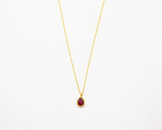 collier femme plaque or - collier ras de cou plaque or - bijoux créateur - the boho society