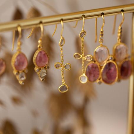 Diamants & pierres semi précieuses, nos joyaux au luxe abordable