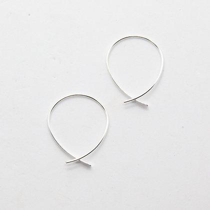 Elen | Boucles d'oreilles en argent 925