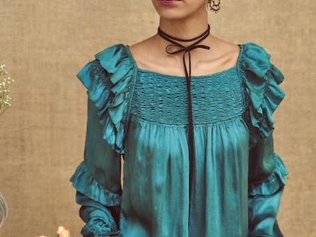 Mode bohème | Smocks et volants pour la blouse Bagua par Stephanie Vaille