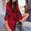 The boho society - robe kaftan brodée rouge bordeaux - boho chic