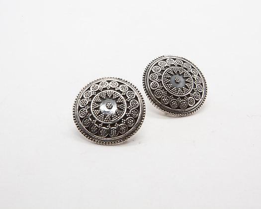 boucle d oreille ethnique - bijoux ethniques - bijoux indiens -bijoux ethniques argent - bijoux boheme - the boho society