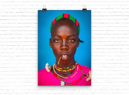 | Photo | Bana man, Omo Valley Ethiopia par Eric Lafforgue.