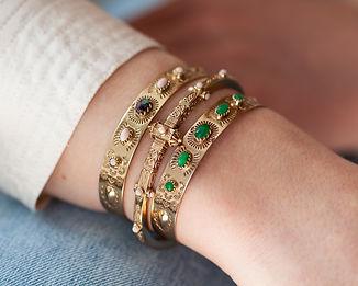 bracelet boheme - l atelier plume  - bra