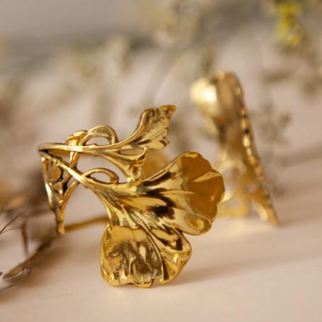 Bijoux de créateurs | Les bijoux Ginkgo Biloba