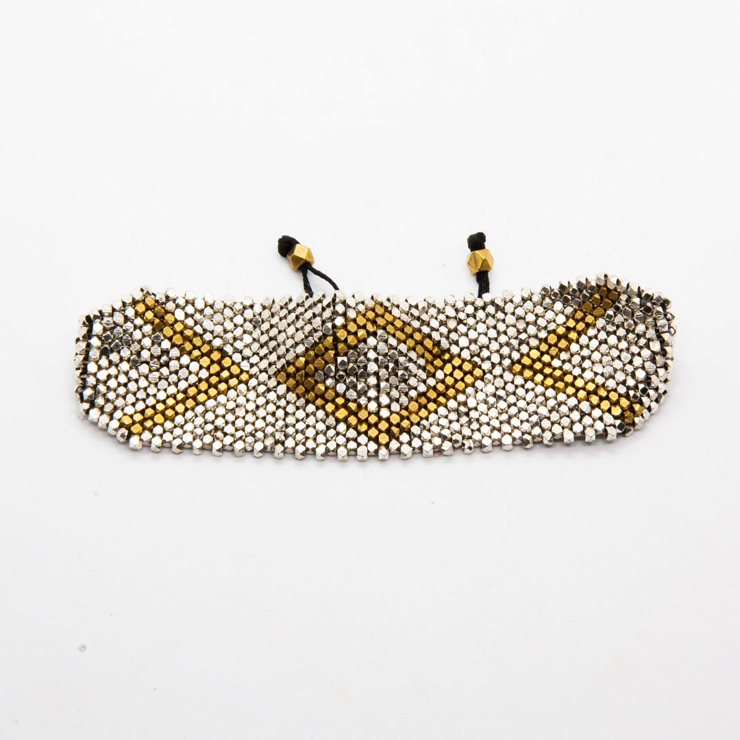 bracelet perles hippie chic - bracelet b