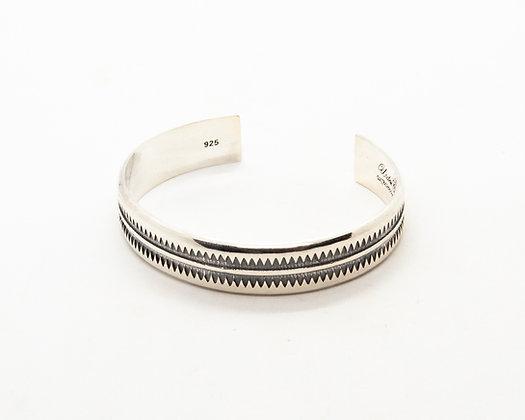 bracelet homme argent - jonc homme argent - bijou Navajo - bijoux createur - the boho society