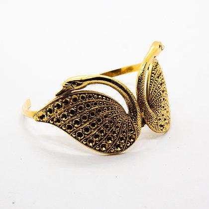 Bracelet Swan | Swan bangle