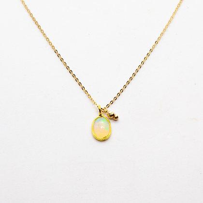 Tamara | Collier opale en or 14 carats
