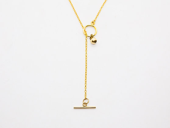 Collier long plaque or - collier sautoir boho - sautoir de createur-the boho society