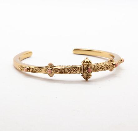Keltoum   Bracelet jonc de créateur opale