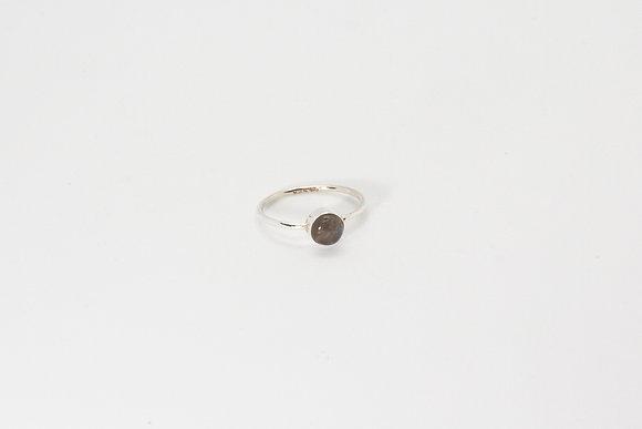 The boho society - Bague Anya | Anya ring - Bague argent sterling 925 et labradorite- 925 sterling silver ring & labradorit
