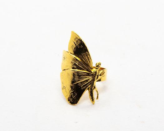 bague papillon lotta djossou - bijoux createur - bijoux boheme - boho chic - the boho society