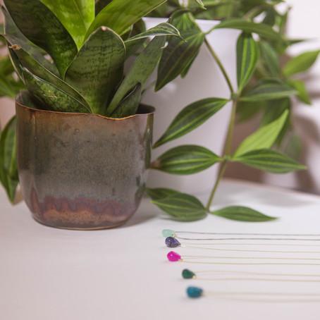 Bijoux créateur   Les colliers goutte : un de nos essentiels