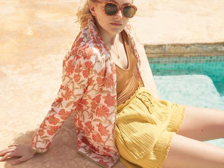 Style boheme chic | La capsule mode romantique by Louise Misha