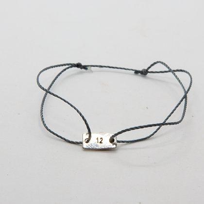 Tito | Bracelet personnalisé homme en argent 925