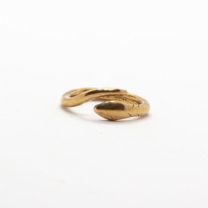 Jili | Bague Serpent, bague créateur en bronze recyclé