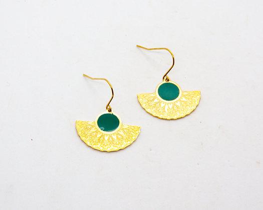 Boucles d'oreilles Paz   Paz earrings