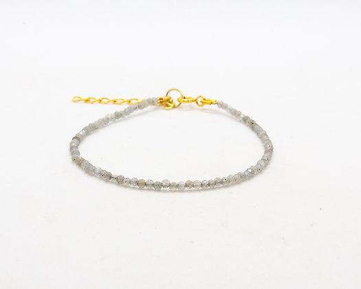 bracelet femme - bracelet perle - bracelet pierre de lune - the boho society