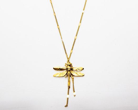 collier libellule lotta djossou - bijoux createur - bijoux boheme - boho chic - the boho society