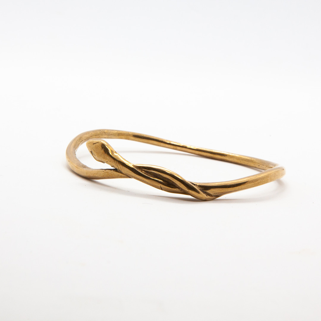 bracelet serpent bronze - bracelet jonc