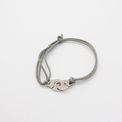 Bracelet menottes argent | Silver circle bracelet