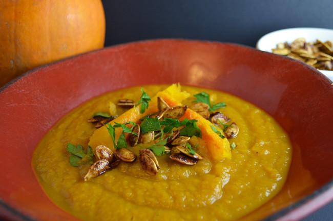 Anniversary Pumpkin Soup