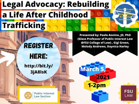 Webinar - Legal Advocacy: Rebuilding a Life After Childhood Trafficking