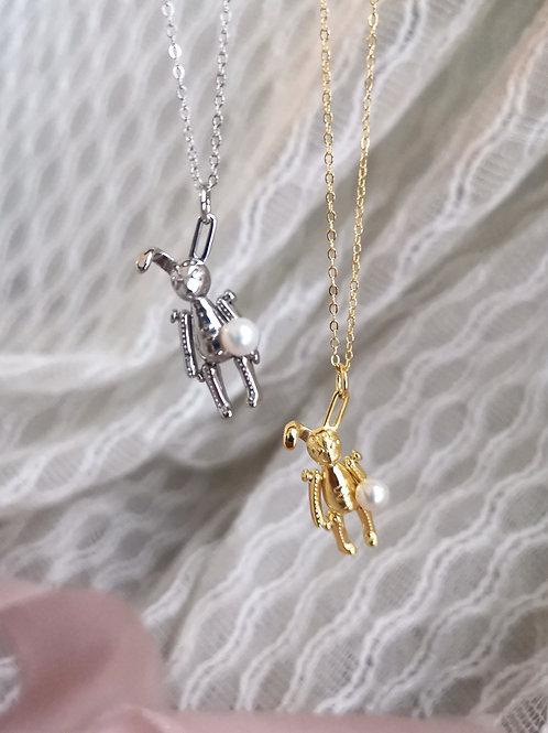 the Cute bunny pendant