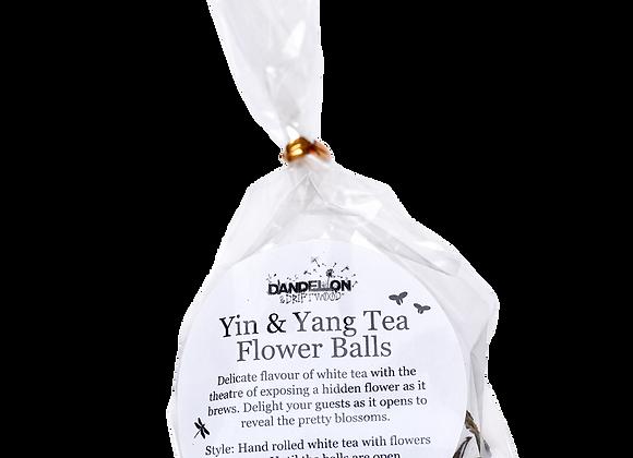 Yin & Yang Tea Flower Balls: Assorted Pack of 3