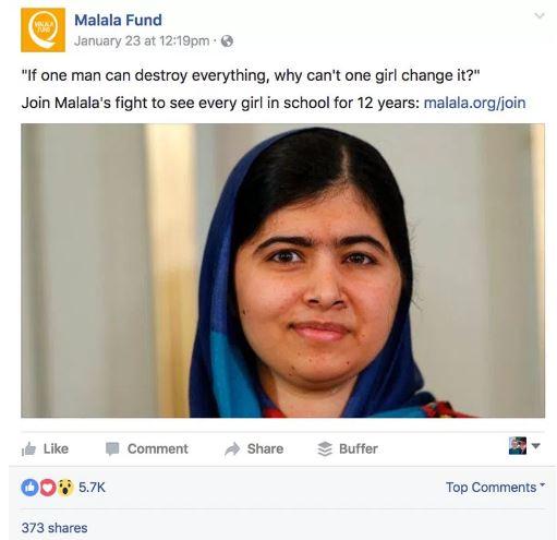 Malala example