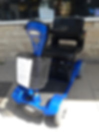 Sterling Sapphire low back Swanage Mobility