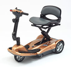 Drive DeVilbiss 3 Wheel Folding Scooter Copper
