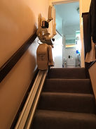 New Brooks straight stairlift Swanage mobility