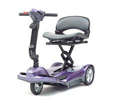 Drive DeVilbiss 3 Wheel Folding Scooter Purple